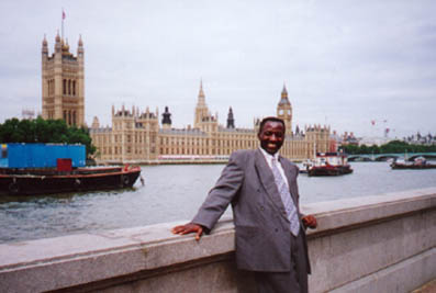 Joe at Westminster