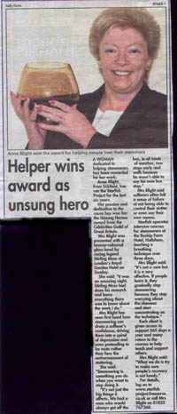 Anne Unsung Hero Award