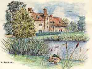 Drawing of the Boship Farm Hotel