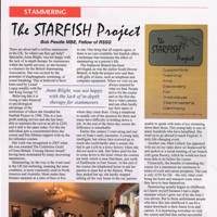Starfish article in the St George for England magazine