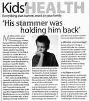 The story of the parent of a stammerer